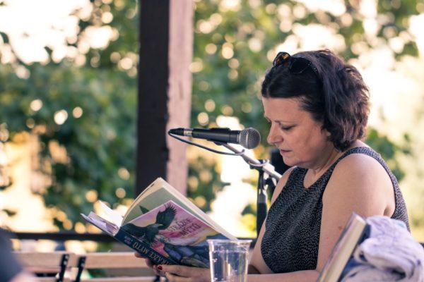Zuzana Kopečková, čtení, literární program 1600