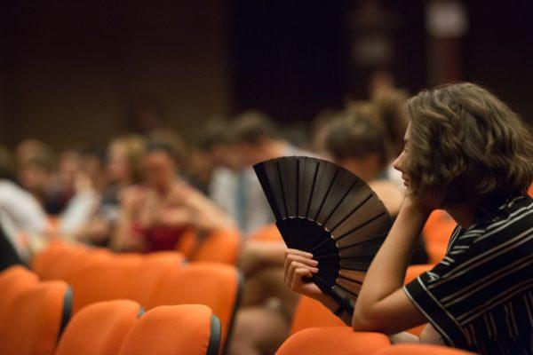 Diskuze s Beatou Parkanovou po skončení filmu Chvilky